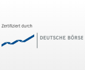 Zertifiziert durch Deutsche Börse
